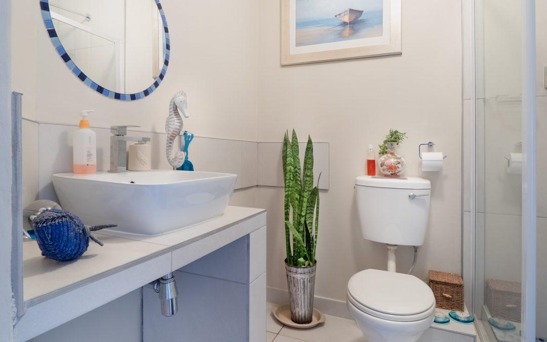 Rommelige badkamer